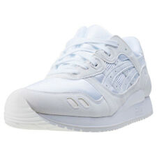 Asics Onitsuka Tiger Gel-lyte Iii Gs Kids Trainers White White New Shoes