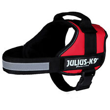 Julius-K9 Dog Power harness red, various sizes, NEW