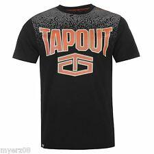 """TapouT """"MAGNITUDE"""" Mens BLACK T Shirt NEW UFC MMA Tee"""
