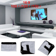 "100/120/150"" 16:9 H215 Projection Projector Screen Super HD Movie Cinema"