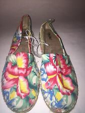 Womens Mossimo Rita Tropical Shoes Size 8 or 7.5 NEW