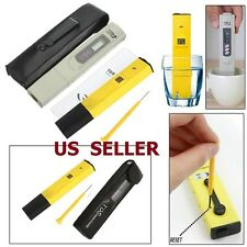 Digital PH Meter + TDS LCD Tester Lab Aquarium Pool Hydroponic Water Monitor