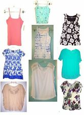 Size XS - 2X - Sonoma Sleeveless, Cap Sleeve & Short Sleeve Spring & Summer Tops