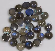 4mm to 18mm Natural Labradorite Cabochon Round Calibrated Size Loose Gemstones