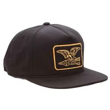 Obey 'Squadron' Snapback Cap Black,100% AUTHENTIC OBEY CLOTHING,BNWT,SHIP VIA UK