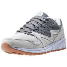 Saucony Grid 8000 Unisex Trainers Grey New Shoes
