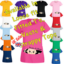 Peek a Boo T Shirt Vest Strappy Top funny comic pregnancy maternity