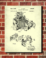 Vintage Camera Patent Print Photographic Equipment Poster Photography Wall Art
