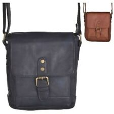 High Quality Small Mens - Ladies Flap Over Shoulder - Cross Body Bag
