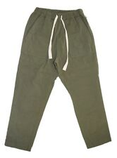BASSIKE COTTON POCKET DETAIL WOMENS PANTS - MILITARY SIZE 0 (6)