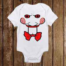Funny Baby Onesie - SAW jigsaw Inspired unisex baby clothes - Baby Shower Gift