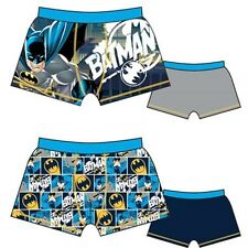 NEW BOYS 2 IN A PACK BATMAN BOXERS, UNDERWEAR, TRUNKS, SIZE 3 TO 10 YEARS