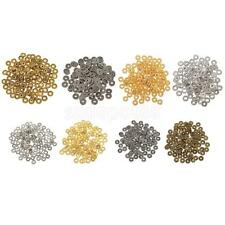 100x Tibetan Silver Spacer Beads Findings Tools Charms for Jewelry Making Craft
