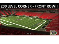 2 PRESEASON JACKSONVILLE JAGUARS vs @ ATLANTA FALCONS 8/31 - FRONT ROW 230!