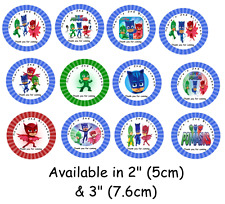 PJ MASK Personalised Self Adhesive Glossy Labels/Stickers