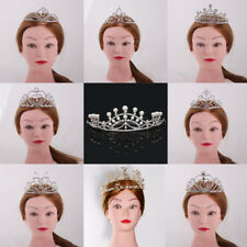Rhinestone Alloy Tiara Crown Wedding Birthday Party Pageant Bridal Hair Jewelry