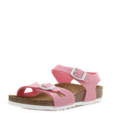 Girls Kids Birkenstock Rio Magic Galaxy Pink Glitter Fun Summer Sandals Shu Size