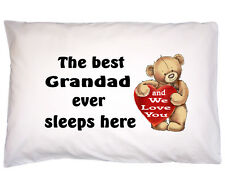 Fathers Day Gift for Dad Daddy Grandad Gift for Daddy Grandad Cotton Pillow case