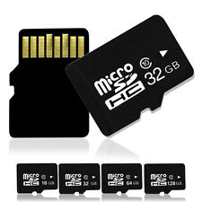 New 32 64 128 GB Micro SD TF Flash Memory SDHC Card Class 10 For Phone Tablet