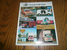1969 Chevrolet Truck Full Line Sales Brochure