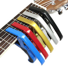 Universal Tune Quick Change Key Clamp Trigger Acoustic Electric Guitar Capo