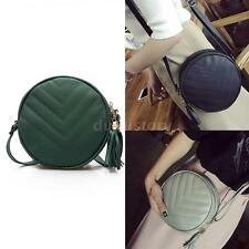 Fashion Korean Style Lady Quilted Leather Crossbody Shoulder Bag Handbag A7B3