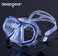 Aqua Sport Silicone Scuba Snorkeling Diving Dive Mask Top Clear optical Goggles