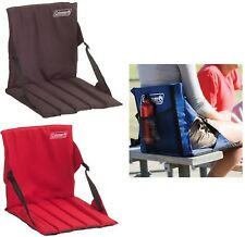 Coleman Folding Chair Stadium Seat Bleacher Cushion Football Boat Sports Camping