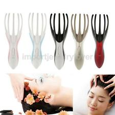 Scalp Head Neck Body Electric Octopus Massager Massage Tool w/ Vibrating Fingers