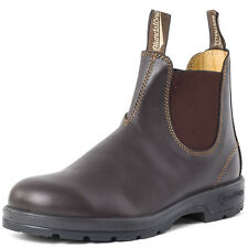 Blundstone 550 Classic Mens Chelsea Boots Dark Brown New Shoes