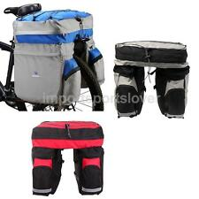 60L Bicycle Double Side Panniers Bag Rear Rack Tail Seat Trunk Cycling Bags