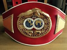IBF Intercontinental  Champion Boxing Belt Replica -IBO, WBA, WBO