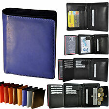 Wallet with 19 Compartments Cattle leather / Wallet Purse Purse Wallet