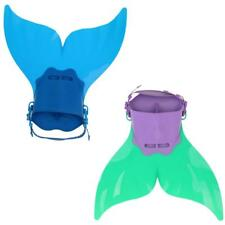 Mermaid Swim Fin Diving Monofin Swimming Training Foot Flippers for Kids Child