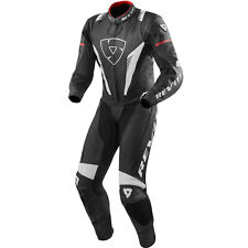 Rev'it! Venom Black White Red 1 One Piece Leather Race Sports Motorcycle Suit