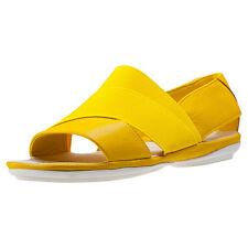 Camper Right Nina Womens Sandals Yellow New Shoes