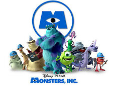 Monsters Inc Disney Movie-Photo/Poster/Print or T-Shirt Transfer