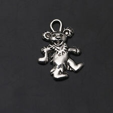 20/40/100/200 Pcs Bear Clown Tibetan Silver Pendants Charms Jewelry Findings
