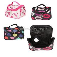 Travel Cosmetic Makeup Case Box Toiletry Holder Pouch Beauty Bag Organizer Purse