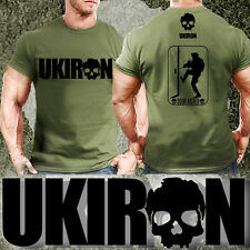 UKIRON *KNOCK KNOCK* Special ops Military ARMY T-SHIRT Gym Soldier MUSCLE Forces