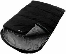 2017 Outwell Campion Lux Double Sleeping Bag Black