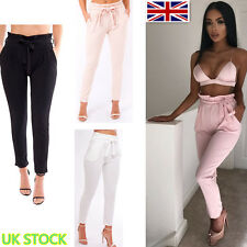 Women Slim Skinny Full Length Trousers Pencil Pants Lady Fit Leggings Size S-XL