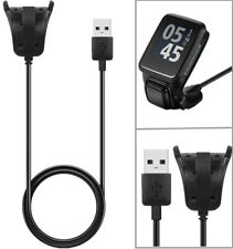 Portable USB Charger Data Sync Cable Cord Charging Dock Cradle For TomTom Watch