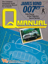James Bond 007  Q MANUAL Role Playing Guide Book