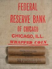 ONE UNSEARCHED - Uncirculated Lincoln Wheat Penny Roll - 1909 1958 P D S (211)