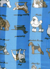 Pug Boxer Airdale Chow Poodle Dachshund Dog Scarf comes in 6 Colors