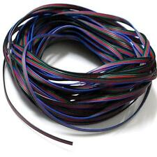 EvZ 4 Color 10m RGB Extension Cable Line for LED Strip 5050 3528 Cord 4pin