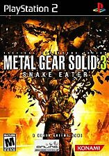 Metal Gear Solid 3: Snake Eater Sony PlayStation 2 Complete Black Label