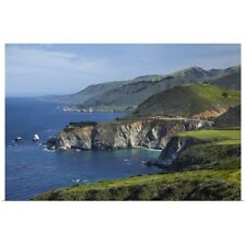 Poster Print Wall Art entitled California Central Coast, Big Sur, Pacific Coast