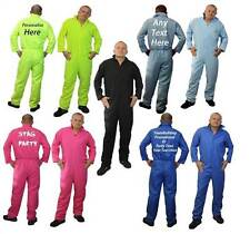 Boiler Suit Overalls Fancy Dress Costume can be customised